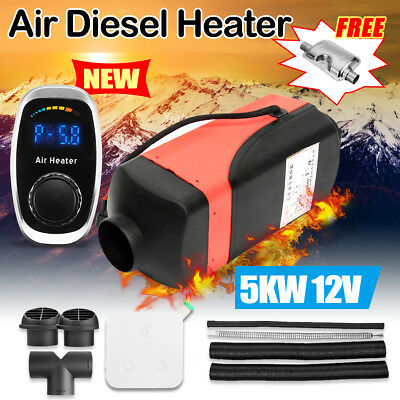 5000W 12V diesel Air Heater Planar Silencer Tank For Motorhome Car Trucks Boats