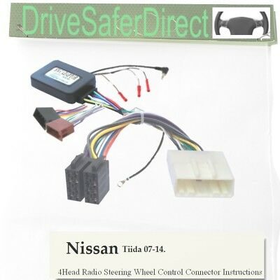 SWC-5237-02J Steering Wheel Control, ISO-JOIN for Xtrons/Nissan Tiida 07-14