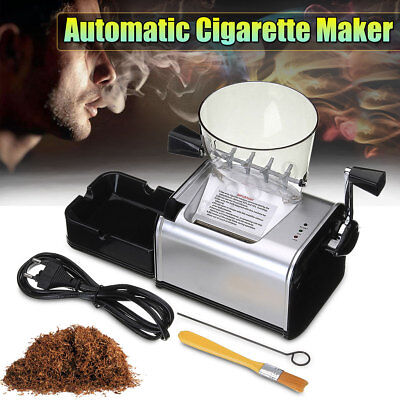 Electric Automatic Cigarette Rolling Machine Tobacco Injector DIY Maker Roller
