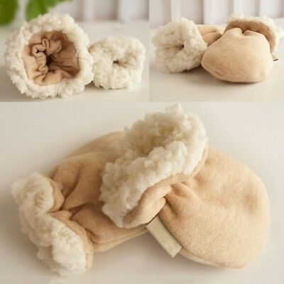 1 Pair Newborn Kids Baby Mittens Winter Gloves Warm Children Cashmere Infant