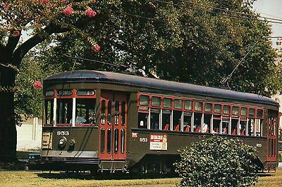 New Orleans Streetcar, Louisiana, St. Charles Line, # 953, Trolley --- Postcard
