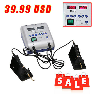 Dental Lab Electric Waxer Carving knife Machine +2 Heated Pen+6 Wax Tips B1 TYPE