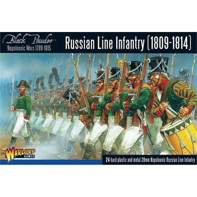Black Powder Russian Line Infantry 1809-1814 Box - Metal