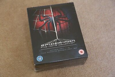 Blu Ray Spider-Man Five Movie Collection Brand New Sealed Boxset