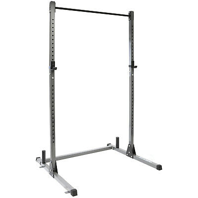 DTX Fitness Olympic Squat Rack Power Cage & Pull Up Bar Multi Gym Weight Lifting