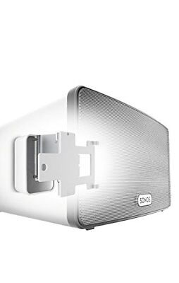 Vogel's Sound 4203 Blanc, Support Mural (Blanc Support enceinte pour Play 3)