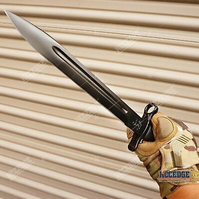 "14.5"" WWII M1 GARAND STYLE BAYONET KNIFE Military Tactical Hunting Fixed Razor B"