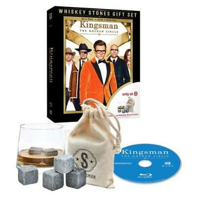 Kingsman The Golden Circle Target Exclusive Whiskey Stones Blu-Ray DVD NEW