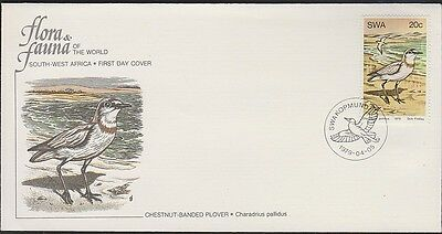 SOUTH WEST AFRICA  BIRDS 431 Plover 1979