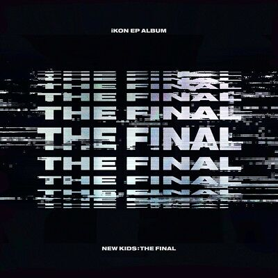 iKON - NEW KIDS : THE FINAL [BLACKOUT ver.] CD+Folded Poster+Tracking no.