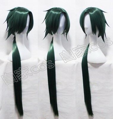Yona of the Dawn Akatsuki no Yona Jeha Green Halloween Cosplay Wig Y97