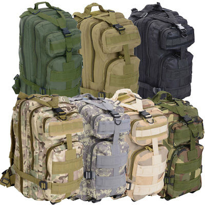 25L Multi-function Military Camping Backpack Tactical Camping Hiking Bag Outdoor