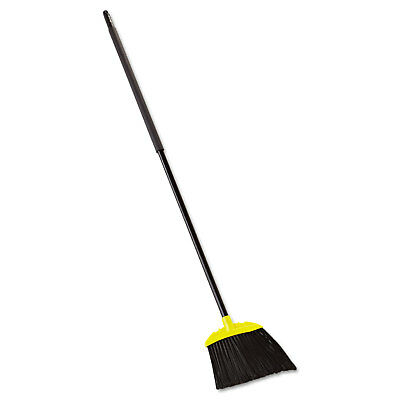 Rubbermaid Commercial Jumbo Smooth Sweep Angled Broom 46-inch Handle
