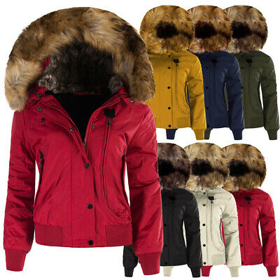 P074 Damen Winter Mantel Jacke Steppjacke Parka Jacket Daunen Look  Winterjacke d6feaa1874