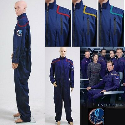 Star Trek Enterprise Duty-Overall Uniform Cospaly Kostüm Karneval Party