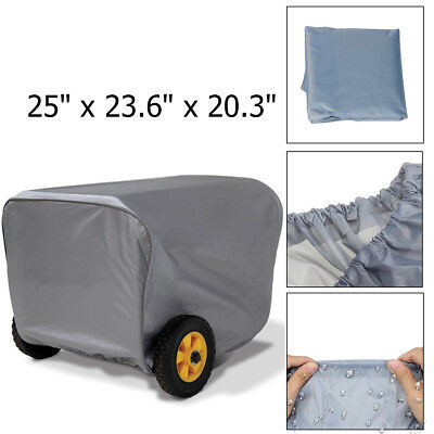 "25"" Generator Storage Cover For Champion Weather-Resistant Dustproof Protection"