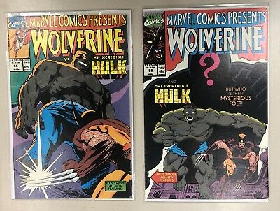 Marvel Comics Presents: Wolverine Lot of 4