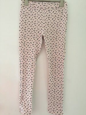 Gorgeous H&M GIRLS STRETCH TROUSERS INA SIZE 9-10 YEARS