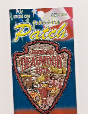 Legendary Deadwood Souvenir South Dakota Patch