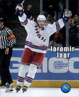 8d69302da NEW YORK RANGERS JAROMIR JAGR CCM Authentic Jersey Size Adult Medium ...