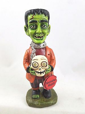 Frankenstein Monster Halloween Folk Art Figurine New