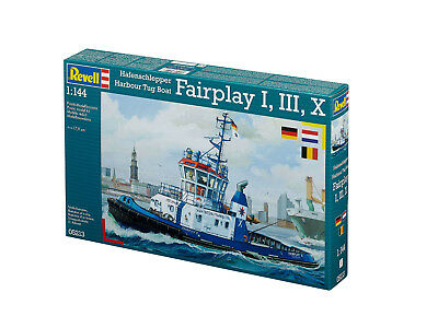 Revell - Hafenschlepper Fairplay I,III,X, 1:144, Neu, OVP, 05213