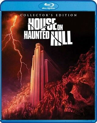 House On Haunted Hill (2018 Release) Brand New Sealed Region A Bluray