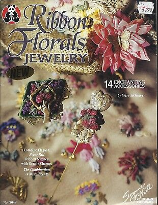 RIBBON FLORALS JEWELRY ~ SUZANNE McNEILL - 14 designs