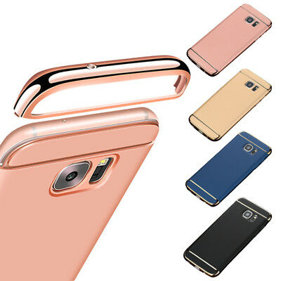 Ultra-thin Slim Hard Case Full Protective Cover For Samsung S6 S7 Edge