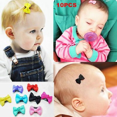 10/20Pcs Mix Small Hair Bows Hair Alligator Clip Accessories for Kids Baby Girls