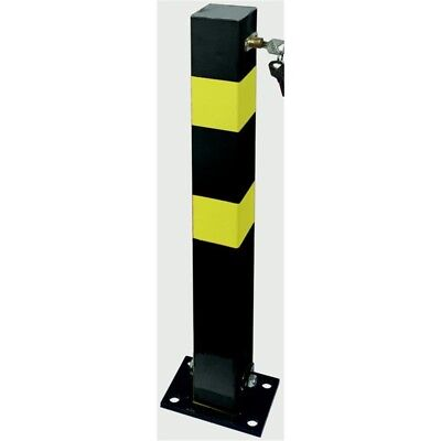 Streetwize Heavy Duty Parking Post - Driveway Security Bollard Folding Robust