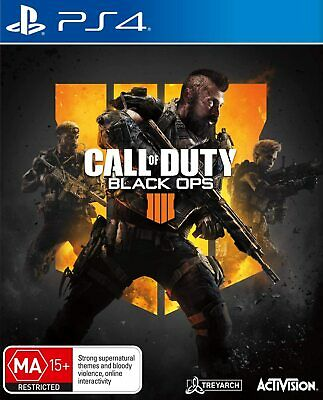 Call of Duty Black Ops 4 PS4 Playstation 4 Brand New Sealed