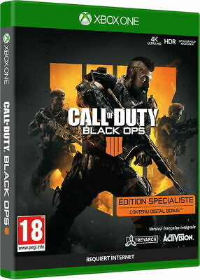 Call of Duty Black Ops 4 Specialist Edition Xbox One Brand New