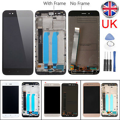 For Xiaomi Mi 5X & Mi A1 LCD Display Touch Screen Digitizer Replacement + Frame