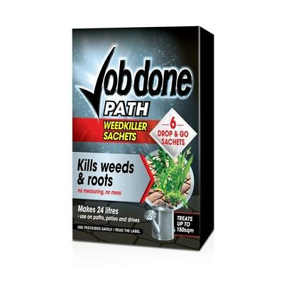 Job Done Path Weedkiller, 6 Sachet