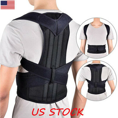 Chest Support Belt Back Shoulder Posture Corrector Therapy Humpback Brace Corset