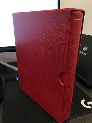 Lighthouse Vario F Binder and Slipcase Red With Sleeves