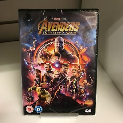 Avengers Infinity War DVD Marvel - New and Sealed Fast and Free Delivery