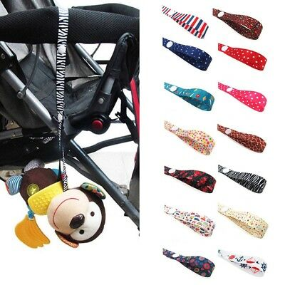 Toddler Anti Drop Fasten Clip Baby Stroller Pram Pushchair Strap Hanger Fun Toy