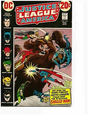 JUSTICE LEAGUE OF AMERICA #104 (Feb 1973) Very Good