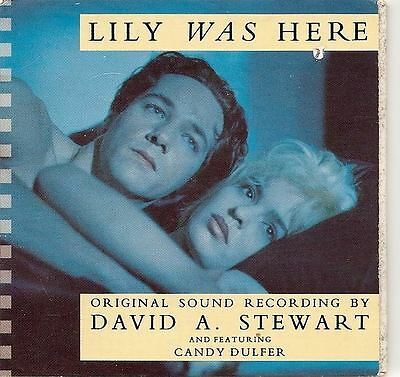 DAVE STEWART  CANDY DULFER Lily Was Here 3 INCH CD SINGLE EURYTHMICS