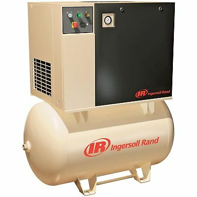 Ingersoll Rand Rotary Screw Compressor- 230 Volts, Single Phase, 7.5 HP, 28 CFM