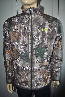 56d760bbffc82 New Under Armour Coldgear Infrared Raltree Xtra Rut Men`s Jacket M 1247869  946