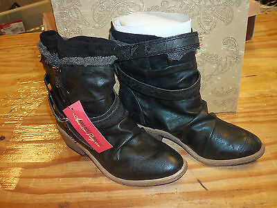 American Rag New Womens Wylee Black Ankle Boots 5.5 M Shoes