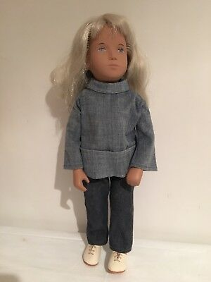 Vintage SASHA Doll Blonde With Mod Outfit Made In England