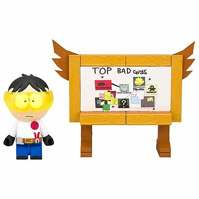 South Park Top Bad Guys Board 45-Piece Construction Set w/ Toolshed Stan