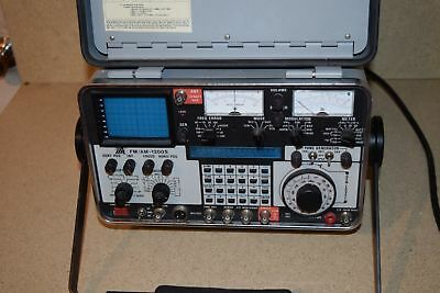 ^^ IFR FM/AM-1200S Communication Service Monitor SPECTRUM ANALYZER
