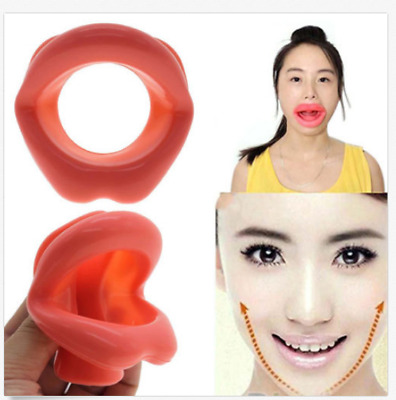 Silicone Face Lifting Lip Exerciser Mouth Muscle Tightener Tightening Anti-Wrink