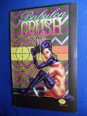 ~~ Babylon Crush #3 ~ 1995 ~ Boneyard Press ~~