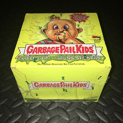 Garbage Pail Kids Ans1 Factory Sealed Silver Foil Box 2003 All-New Series 1 L@@k